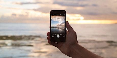 Fotografía con tu móvil boletos