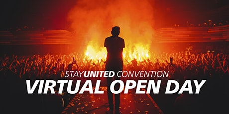 #StayUnited Convention - Virtual Open Day - Careers in music & media tickets