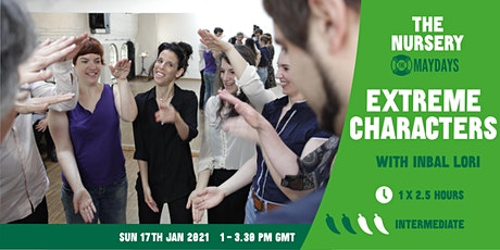 Online Improv Elective: Extreme Characters tickets