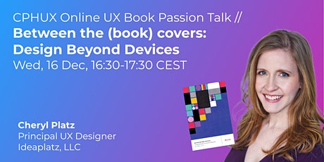 Between the (book) covers: Design Beyond Devices // UX Book Passion Talk tickets