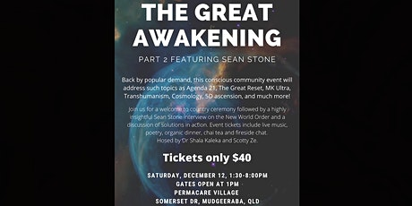 THE GREAT AWAKENING - PART 2 FEATURING SEAN STONE tickets