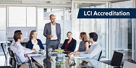 Leadership Climate Indicator (LCI) Accreditation tickets