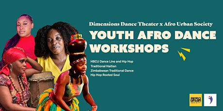 Afro Dance Mega-Youth Workshops tickets