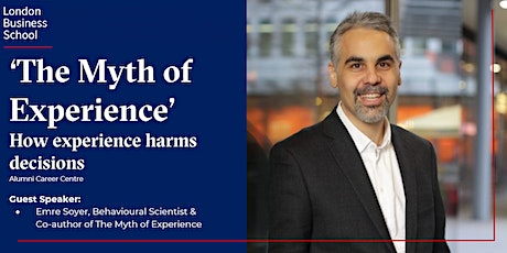 'The Myth of Experience' with Emre Soyer (Middle East Time Zone) tickets