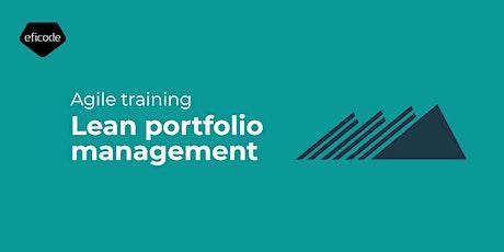 Lean portfolio management biglietti