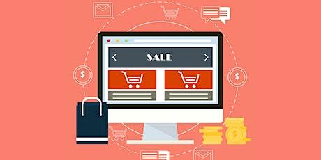 ¿Cómo establecer un negocio online? tickets