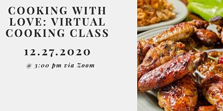 Cooking with Love: Virtual Cooking Class tickets