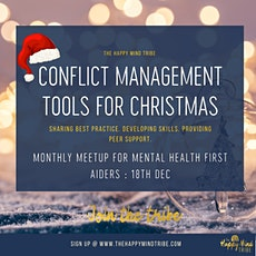Monthly Meetup for Mental Health First Aiders 18th December 2020 tickets