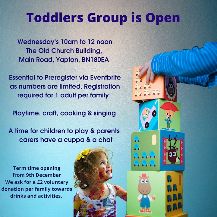Parent and Toddler Group at the OCB Wednesday 13th October image