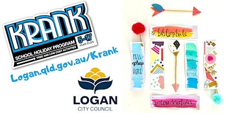 KRANK Watercolour Bookmark WORKSHOP by BrisStyle tickets