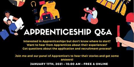 Apprenticeship Q&A tickets
