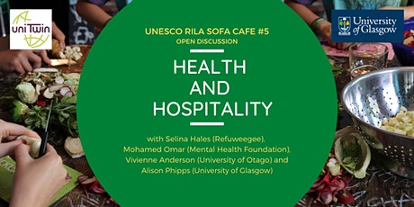 UNESCO RILA Sofa Café #5 - Health and Hospitality tickets