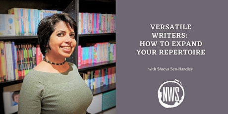 Versatile Writers: How to expand your repertoire tickets