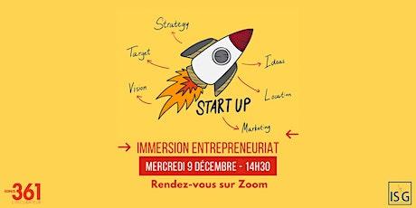 Immersion virtuelle sur l'Entrepreneuriat - ISG Lille billets