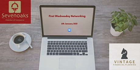FIRST WEDNESDAY NETWORKING JANUARY 2021 tickets