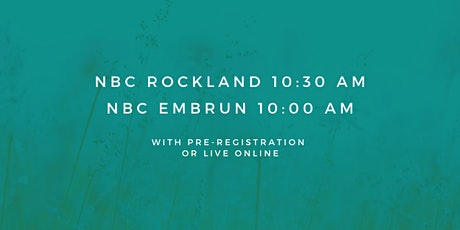 Embrun - Sunday Service 10:00 AM (December 6th, 2020) tickets