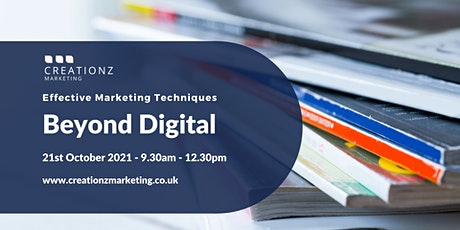 Beyond Digital - Effective Marketing Techniques tickets
