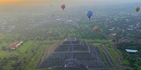 2021 Teotihuacan Pilgrimage in Mexico boletos