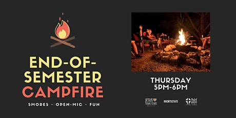 End-of-Semester Campfire & Open Mic Night! tickets