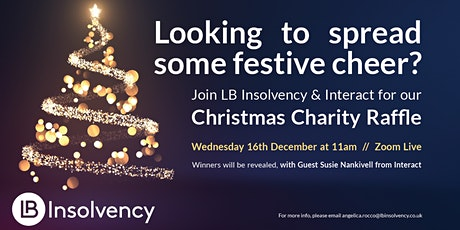 LB Insolvency Christmas Charity Raffle & Auction tickets