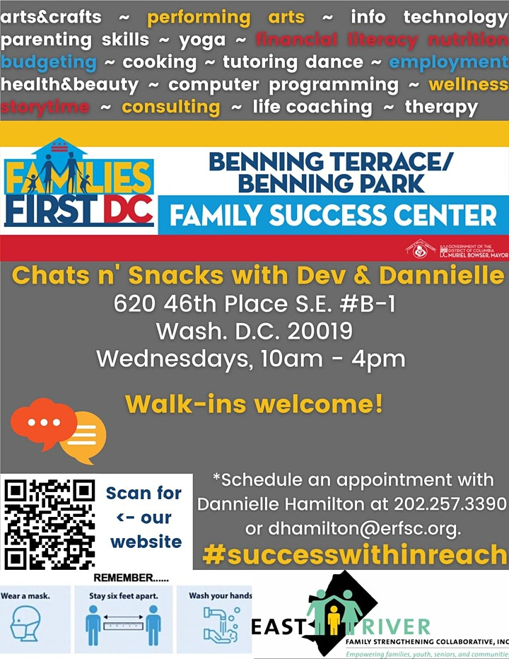 Chats n' Snacks with Dev & Dannielle image