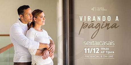 Sexta Pra Casais - Tijuca | Sexta-feira, 11/12, às 19h30 ingressos