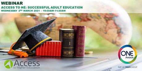 Access to HE: Successful Adult Education tickets