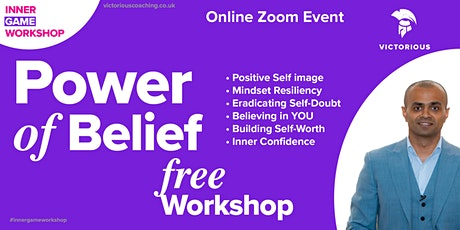 POWER of Belief - INNER GAME Workshop tickets