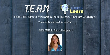 T.E.A.M Network - Lunch & Learn w/ Alliette Chignoli tickets