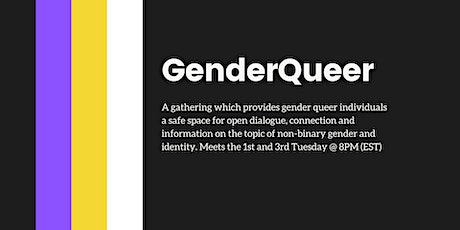 GenderQueer tickets