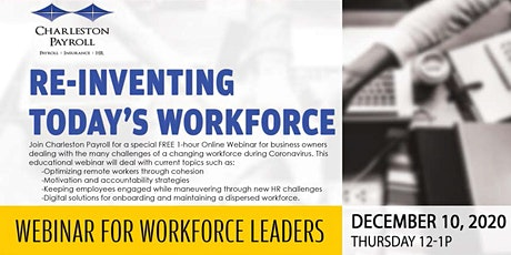 Re-Inventing Today's Workforce tickets