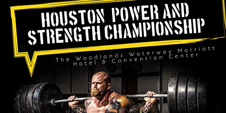 Houston Power & Strength Championship tickets