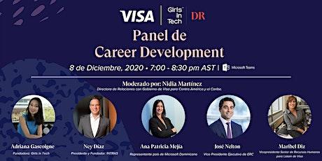 Panel de Career Development boletos