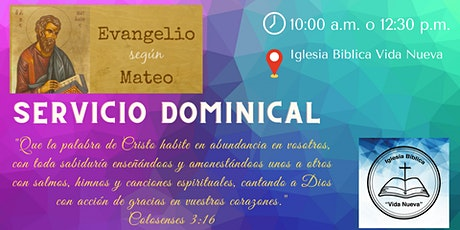 Servicio Dominical IBVN boletos