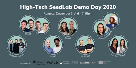 High-Tech SeedLab Demo Day 2020 tickets