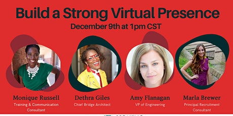 Build a Strong Virtual Presence tickets