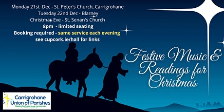 St. Peters - Carrigrohane Festive Music and readings for Christmas tickets