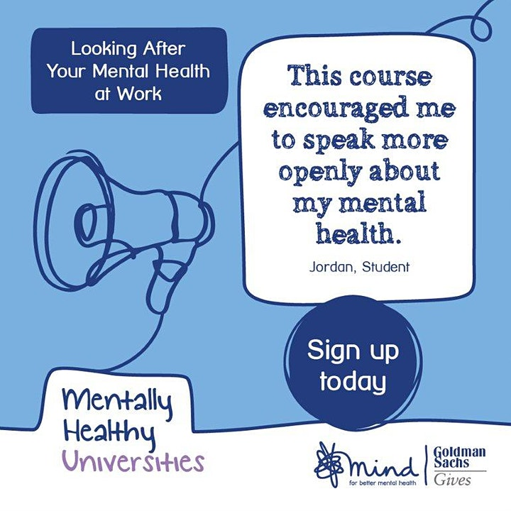 Looking after your Mental Health at Work with Bath Mind image