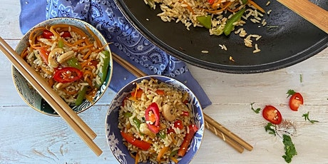 Chinese Style Fried Vegetable Rice tickets