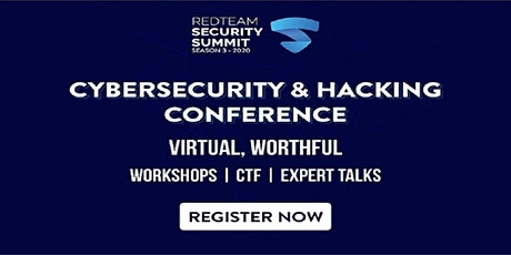 RedTeam Security Summit 2020 tickets