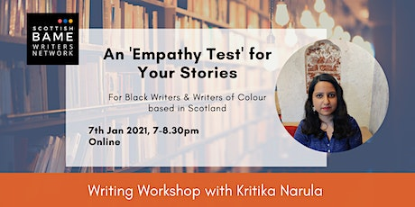 Writing Workshop: An 'Empathy Test' for Your Stories with Kritika Narula tickets