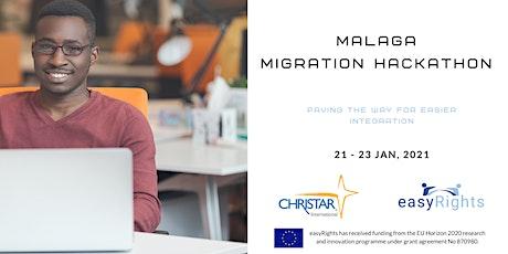Hackathon de Málaga sobre Migración entradas