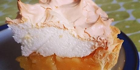 Lemon meringue pie - live and interactive via Zoom tickets