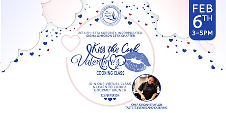 Kiss the Cook-Valentine's Day Cooking Class tickets