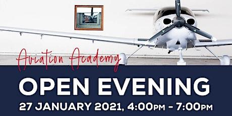 Aviation Academy Virtual Open Evening tickets