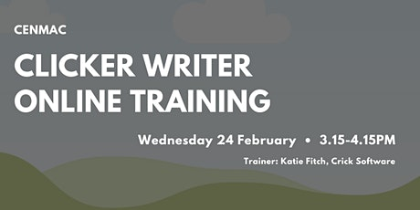 Clicker Writer | Online Training tickets