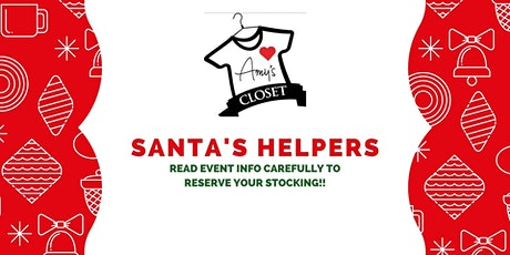Santa's Helpers - Stocking Giveaway for kids ages 3-10 tickets