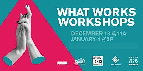 Artist INC Topeka: What Works Workshop tickets
