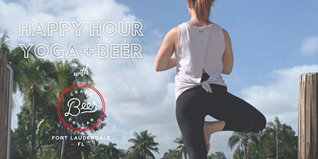Happy Hour Yoga + Beer at Craft Beer Cellar FTL tickets