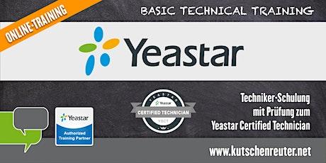 "Yeastar Technikerschulung / ""Yeastar Certified Technician"" Tickets"